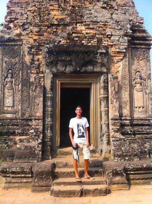 Angkor Tempel Kambodscha Südostasien Reiseroute