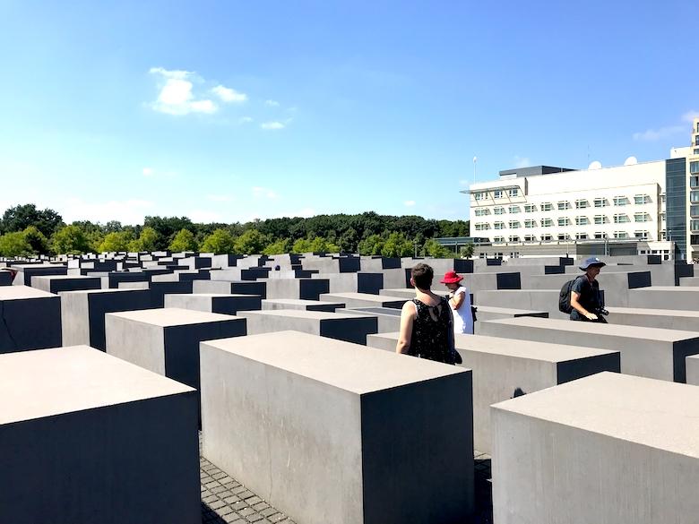 wochenende berlin stadtrundgang holocaust mahnmal