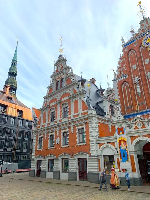 Schwarzhäupterhaus Riga Sehenswürdigkeiten