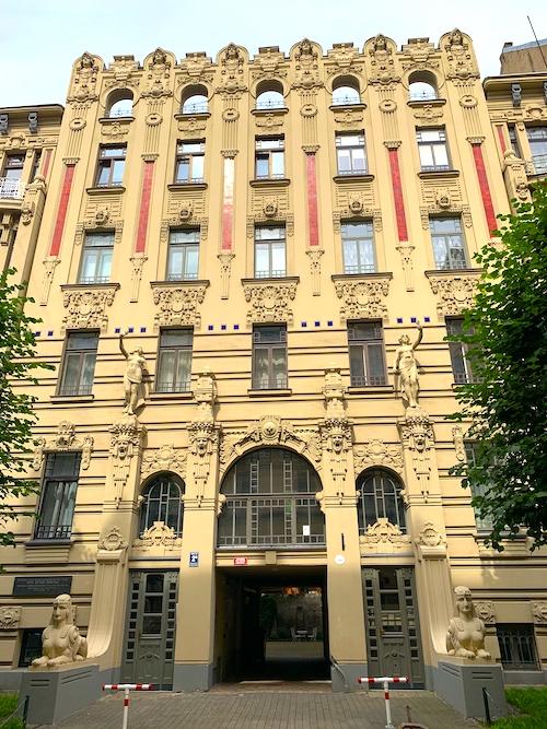 Jugendstilviertel Riga Sehenswürdigkeiten