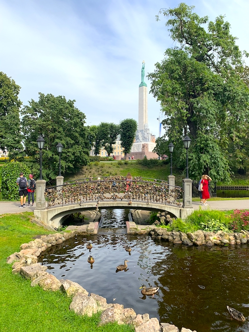 Stadtkanal Riga Sehenswürdigkeiten