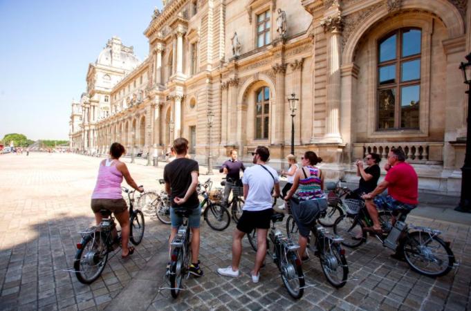 Fahrradtour Paris Aktivitäten