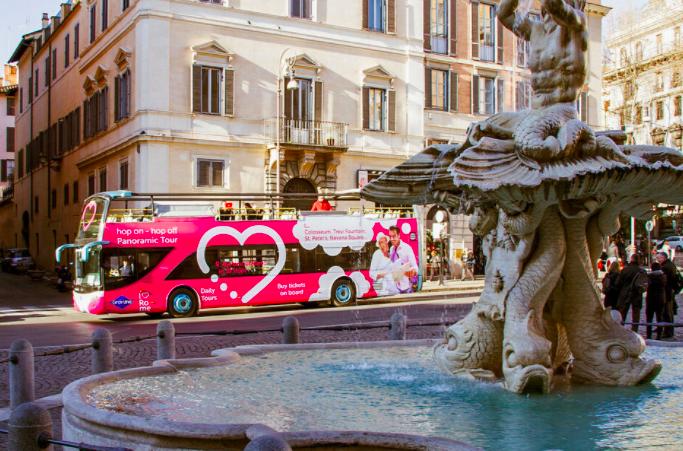 Hop on Hop Off Bus Rom Aktivitäten