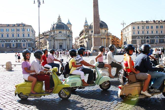 Vespa Tour Rom Aktivitäten