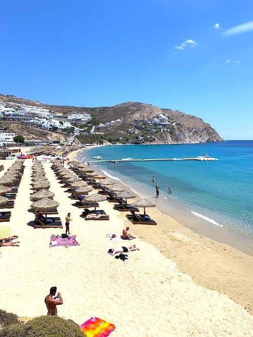 Elia Beach Schönste Strände Mykonos
