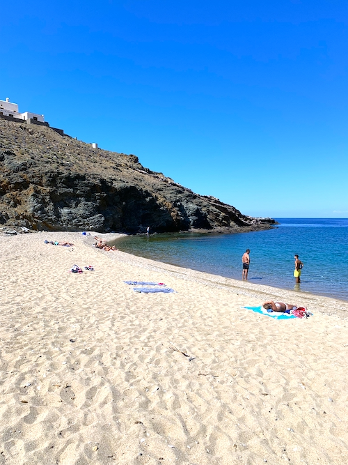 Fokos Beach Schönste Strände Mykonos