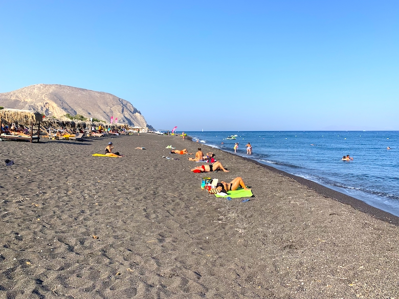 3 Tage Santorini Reiseroute